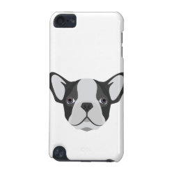 Case-Mate Barely There 5th Generation iPod Touch Case with Bulldog Phone Cases design