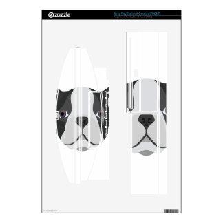 Illustration cute French Bulldog PS3 Console Skin