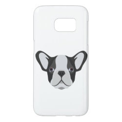 Case-Mate Barely There Samsung Galaxy S7 Case with Bulldog Phone Cases design