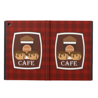 Illustration delicious cup of coffee cover for iPad air