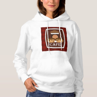 Illustration delicious cup of coffee hoodie