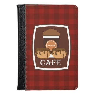 Illustration delicious cup of coffee kindle case