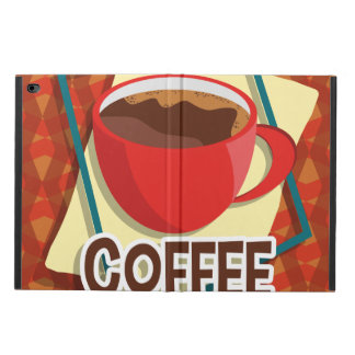 Illustration delicious cup of coffee powis iPad air 2 case