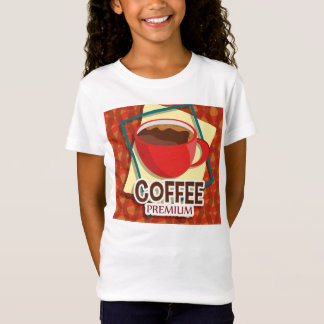 Illustration delicious cup of coffee T-Shirt