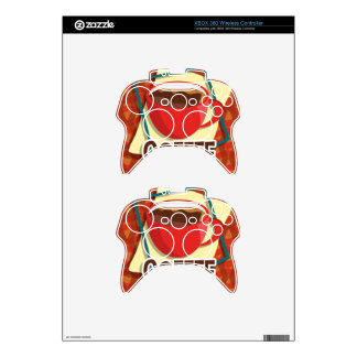 Illustration delicious cup of coffee xbox 360 controller skins