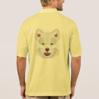 Illustration dogs face Finnish Lapphund Polo Shirt