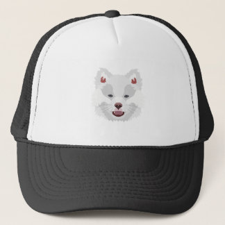 Illustration dogs face Finnish Lapphund Trucker Hat