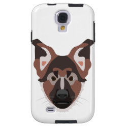 Case-Mate Barely There Samsung Galaxy S4 Case with German Shepherd Phone Cases design