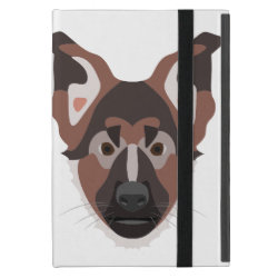 Powis iCase iPad Mini Case with Kickstand with German Shepherd Phone Cases design
