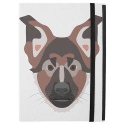 iPad Pro Powis Case with German Shepherd Phone Cases design