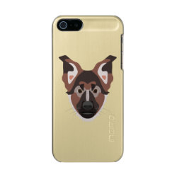 Incipio Feather Shine iPhone 5/5s Case with German Shepherd Phone Cases design