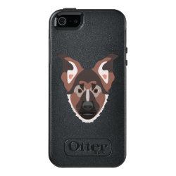 OtterBox Symmetry iPhone SE/5/5s Case with German Shepherd Phone Cases design