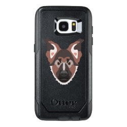 OtterBox Commuter Samsung Galaxy S7 Edge Case with German Shepherd Phone Cases design