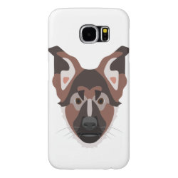 Case-Mate Barely There Samsung Galaxy S6 Case with German Shepherd Phone Cases design