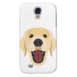 Case-Mate Barely There Samsung Galaxy S4 Case with Golden Retriever Phone Cases design