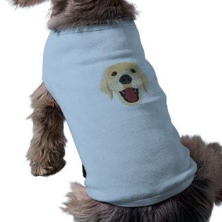 Illustration dogs face Golden Retriver Shirt