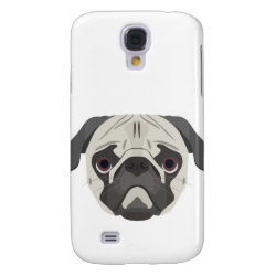 Case-Mate Barely There Samsung Galaxy S4 Case with Pug Phone Cases design