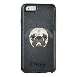 OtterBox Symmetry iPhone 6/6s Case with Pug Phone Cases design