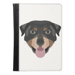 iPad Air Folio Case by Ivoke with Rottweiler Phone Cases design