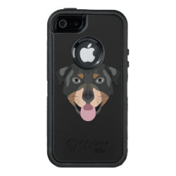OtterBox Symmetry iPhone SE/5/5s Case with Rottweiler Phone Cases design