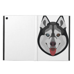iPad Air Powis Case with Siberian Husky Phone Cases design