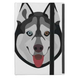 Powis iCase iPad Mini Case with Kickstand with Siberian Husky Phone Cases design