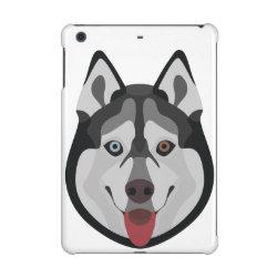 Case Savvy Glossy Finish iPad Mini Retina Case with Siberian Husky Phone Cases design