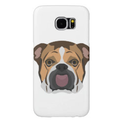 Case-Mate Barely There Samsung Galaxy S6 Case with Bulldog Phone Cases design