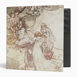 Illustration for a Fairy Tale 3 Ring Binders