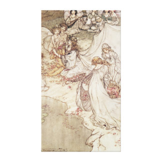 Illustration for a Fairy Tale Canvas Print