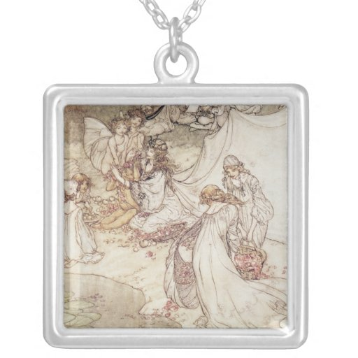 Illustration for a Fairy Tale Jewelry
