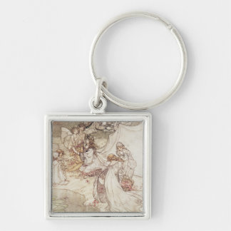 Illustration for a Fairy Tale Keychain