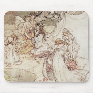 Illustration for a Fairy Tale Mouse Pad