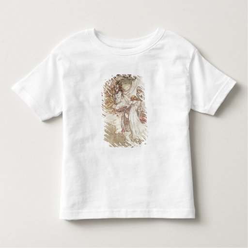 Illustration for a Fairy Tale T-shirt