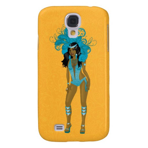 Illustration for carnival costume o las vegas show galaxy s4 cases
