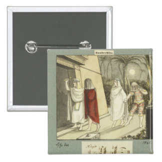 Illustration for Mozart s The Magic Flute 1845 Pin