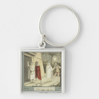 Illustration for Mozart s The Magic Flute 1845 Keychains