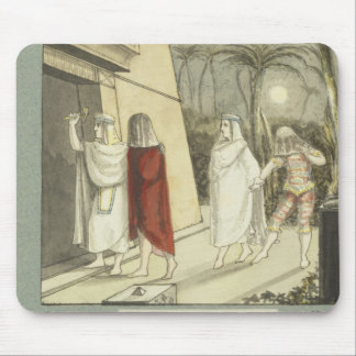 Illustration for Mozart s The Magic Flute 1845 Mousepads
