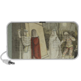 Illustration for Mozart s The Magic Flute 1845 iPhone Speakers