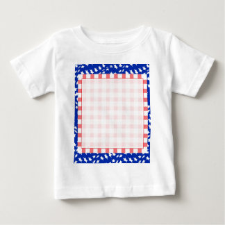 Illustration for the 4th of July Independence. Squ Baby T-Shirt