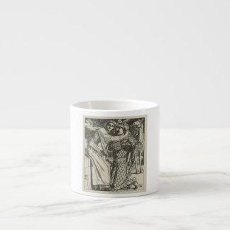 Illustration for The Ballad of Oriana Espresso Cup