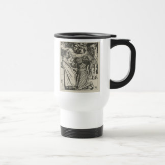 Illustration for The Ballad of Oriana Travel Mug