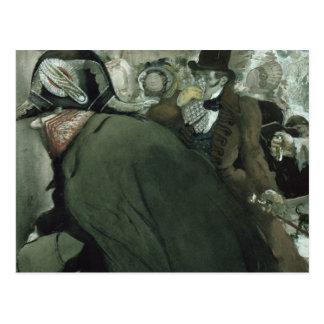 Illustration for The Nose by Nikolai Gogol Postcard
