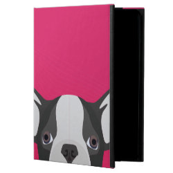 Illustration French Bulldog with pink background Powis iPad Air 2 Case