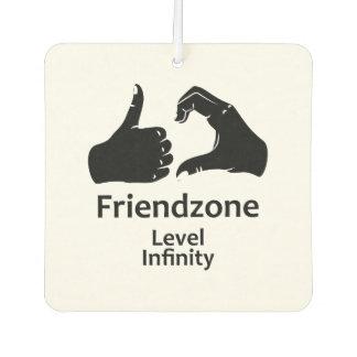 Illustration Friendzone Level Infinity Air Freshener