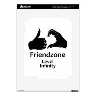 Illustration Friendzone Level Infinity Decals For iPad 3