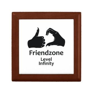 Illustration Friendzone Level Infinity Jewelry Box