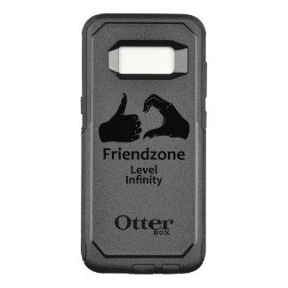 Illustration Friendzone Level Infinity OtterBox Commuter Samsung Galaxy S8 Case