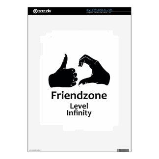 Illustration Friendzone Level Infinity Skins For The iPad 2