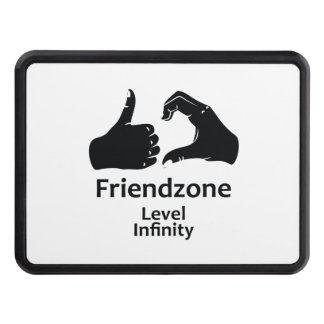 Illustration Friendzone Level Infinity Trailer Hitch Cover